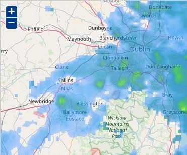 National Weather Map Pressure.Website App Help Met Eireann The Irish Meteorological Service