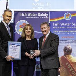 Met Éireann Presented with Irish Water Safety Award