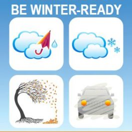 2018-2019 Be Winter Ready Information Campaign Launched Today