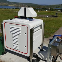 New wind instrument at Valentia Observatory