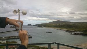Malin Head - the view from the Weather Station Anemometer