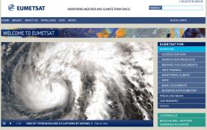 EUMETSAT Learning Zone webpage
