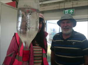 Hurricane in a bottle experiment by our staff at the Ploughing Championships 2019