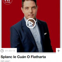 Interview with Met Éireann's Irish Officer on Newstalk's Irish language 'Splanc' podcast