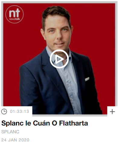 Image of Newstalk Splanc podcast