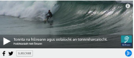 Met Éireann Podcast And Podchraoladh - Waves And The Science Of Surfing