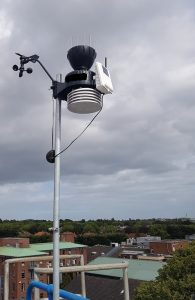 Example of a private automatic weather station