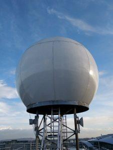 Image of Dublin Airport Rainfall Radar
