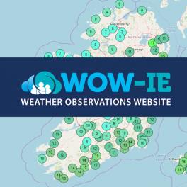 Visit WOW-IE : Met Éireann's Weather Observations Website