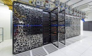 KNMI Supercomputer has a capacity of 50 trillion calculations/sec (50 teraflops). HARMONIE requires around 3 quadrillion calculations