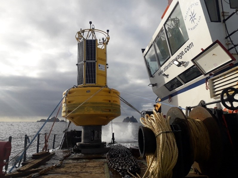 Picture: 1 Buoy on route to M3 Station. Picture courtesy Barry Christy.