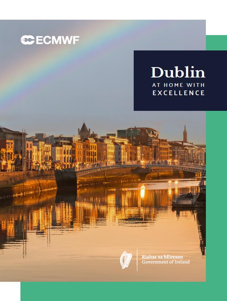 Ireland's ECMWF bid brochure image