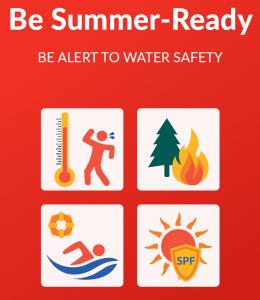 Be Summer-Ready leaflet