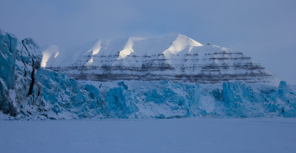 Glaciers in Svalbard (picture by Noel Fitzpatrick)