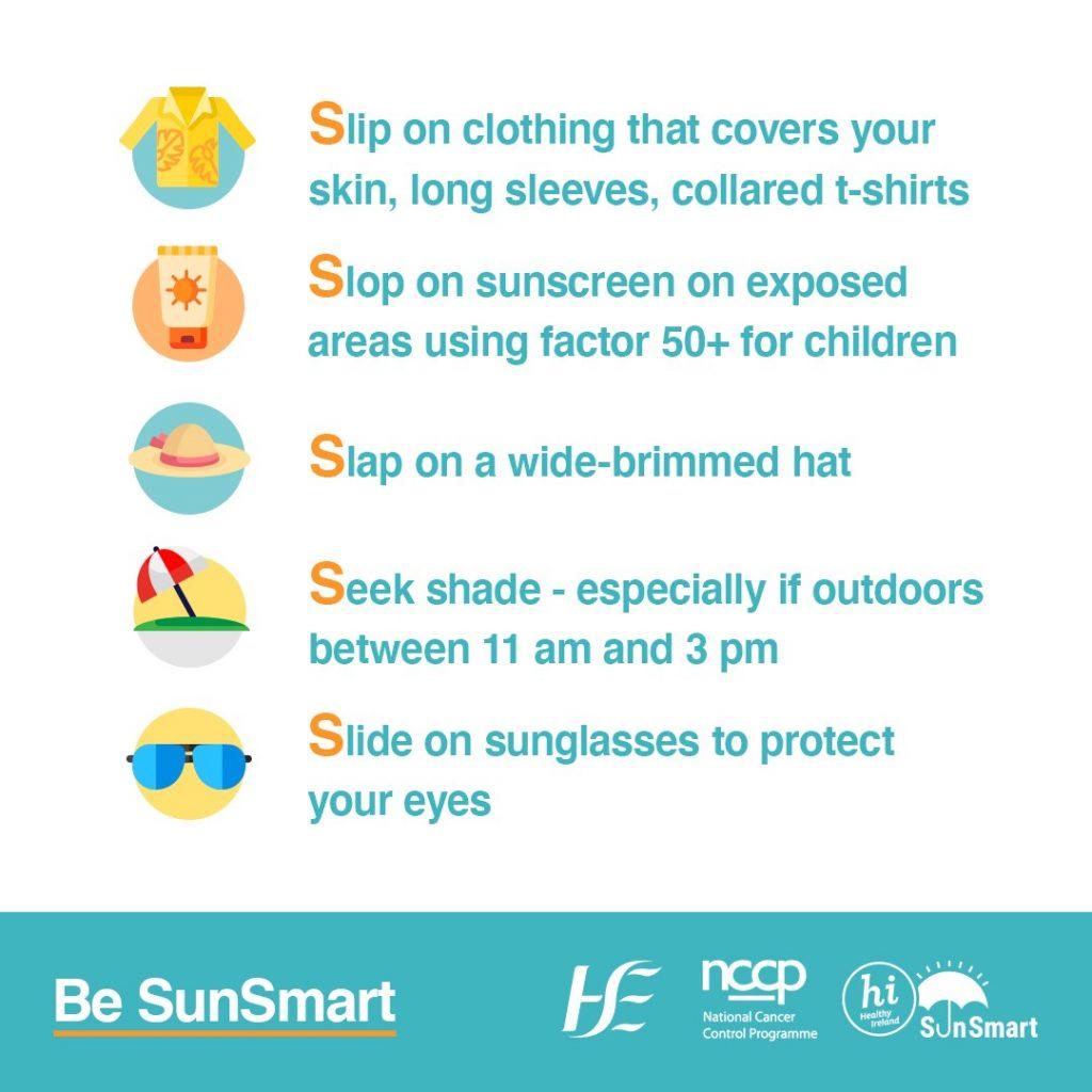 Be SunSmart HSE NCCP advice